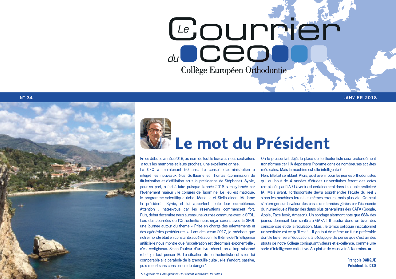 The CEO Courrier day event, 2018 January